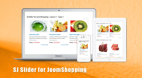 SJ Slider for JoomShopping
