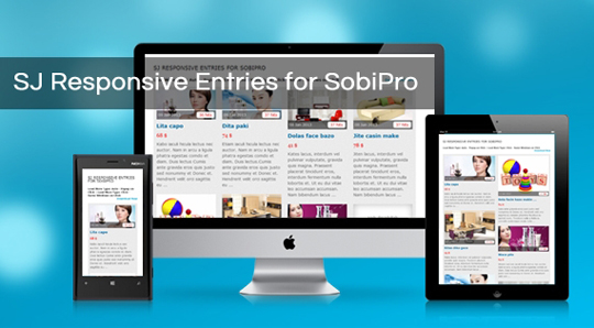 SJ Responsive Entries for SobiPro