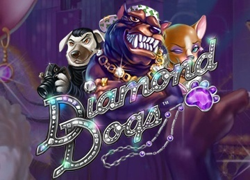 Игровой автомат Diamond Dogs в казино Вулкан
