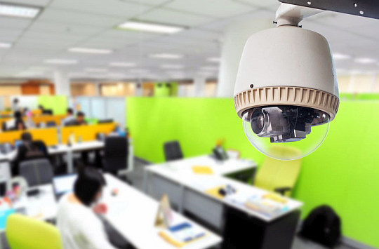 Видеонаблюдение в офис: установка и монтаж видеонаблюдения