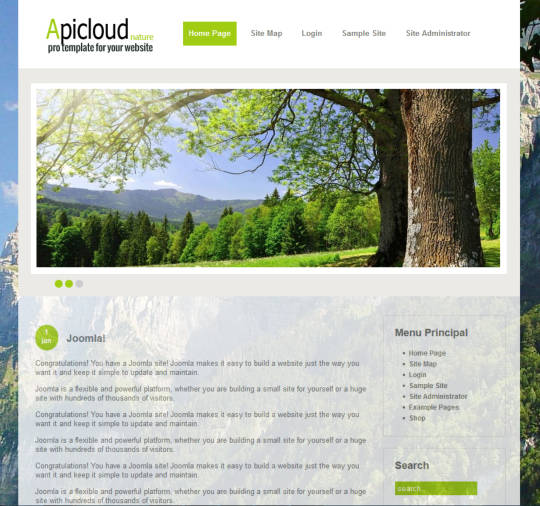 Apicloud Nature