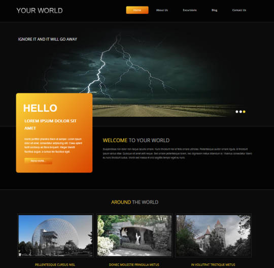 Ҹ���� ������ Your World ��� Joomla